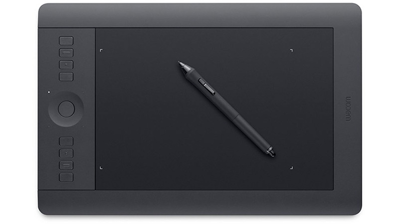 Wacom Intuos pro with stylus